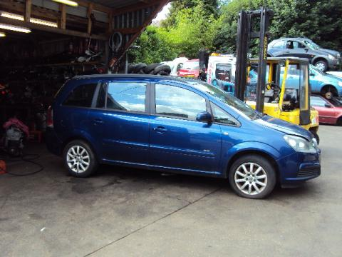 Breaking Vauxhall Zafira 1.6 for spares #1