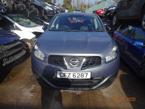 Breaking Nissan Qashqai 1.4 for spares #1