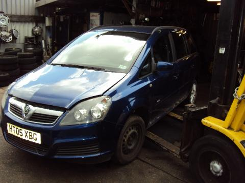Breaking Vauxhall Zafira 1.6 for spares #3
