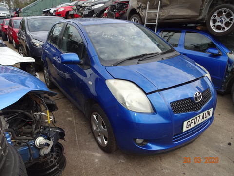 Breaking Toyota Yaris for spares #3